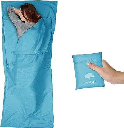 Bramble Drap de Sac de Couchage Sac Doublure Ultraléger et Respirant en Polyester de Microfibre pour Le Camping et Le Voyage