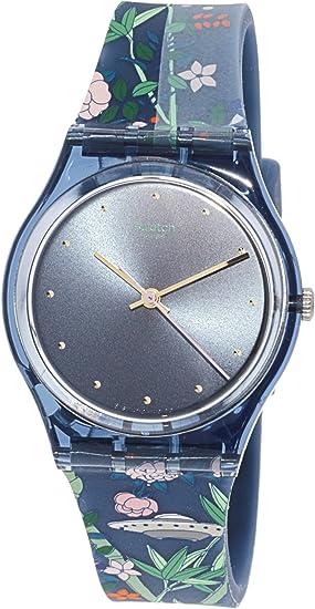 Swatch Reloj Analógico para Hombre de Cuarzo con Correa en Silicona GN258   Amazon.es  Relojes fe8873f822c9
