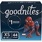 Goodnites Bedwetting Underwear for Boys, XS, 44 Ct, Packaging May Vary