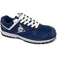 Dunlop DL0201026-39 Zapato, Piel de Ante y Mesh, Marino, 39