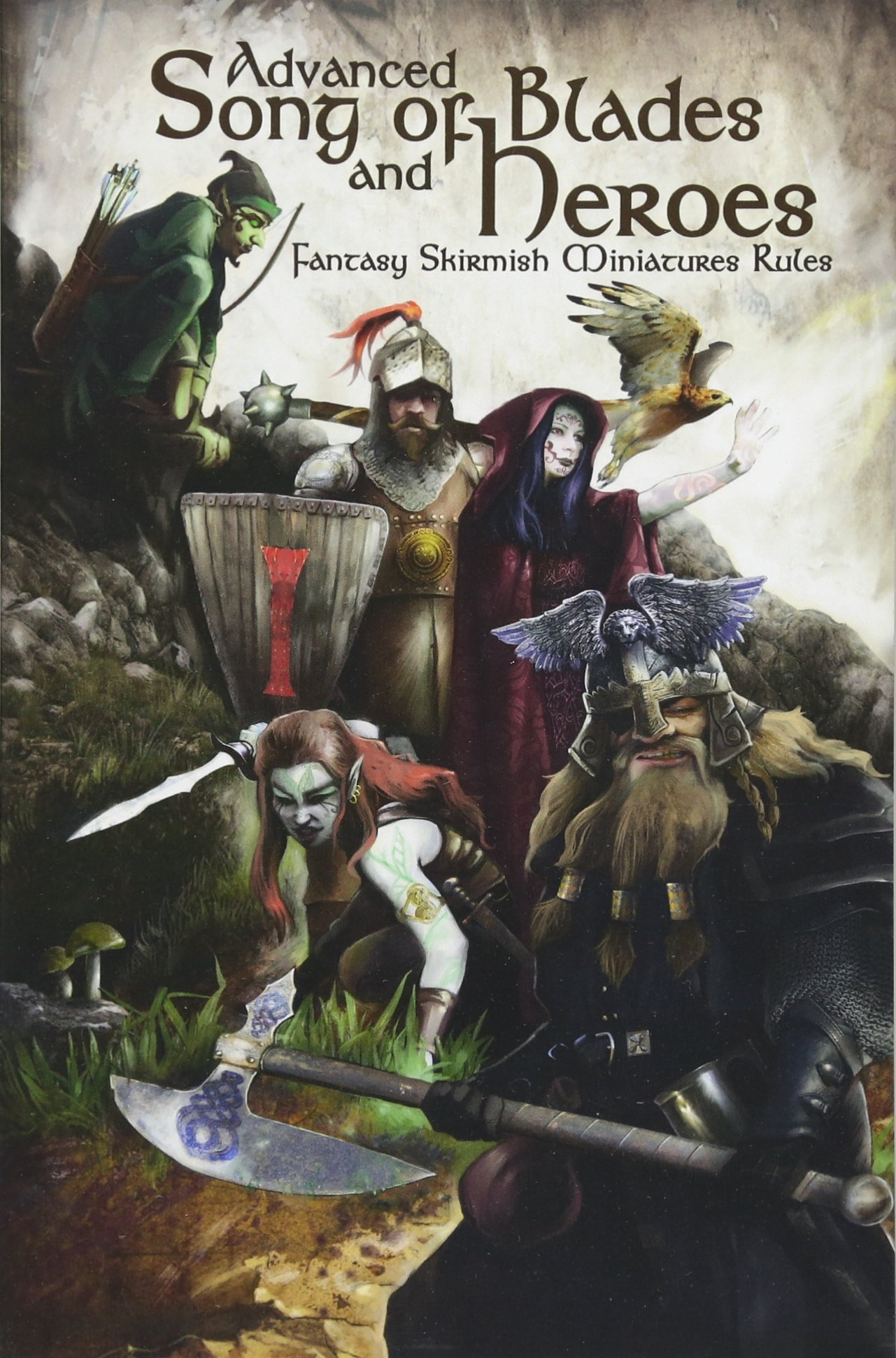 Advanced Song of Blades and Heroes: Fantasy Skirmish Miniatures