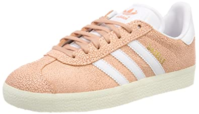 best service 54783 abc31 adidas Damen Gazelle Gymnastikschuhe Clear OrangeFTWR Off White, 36 EU