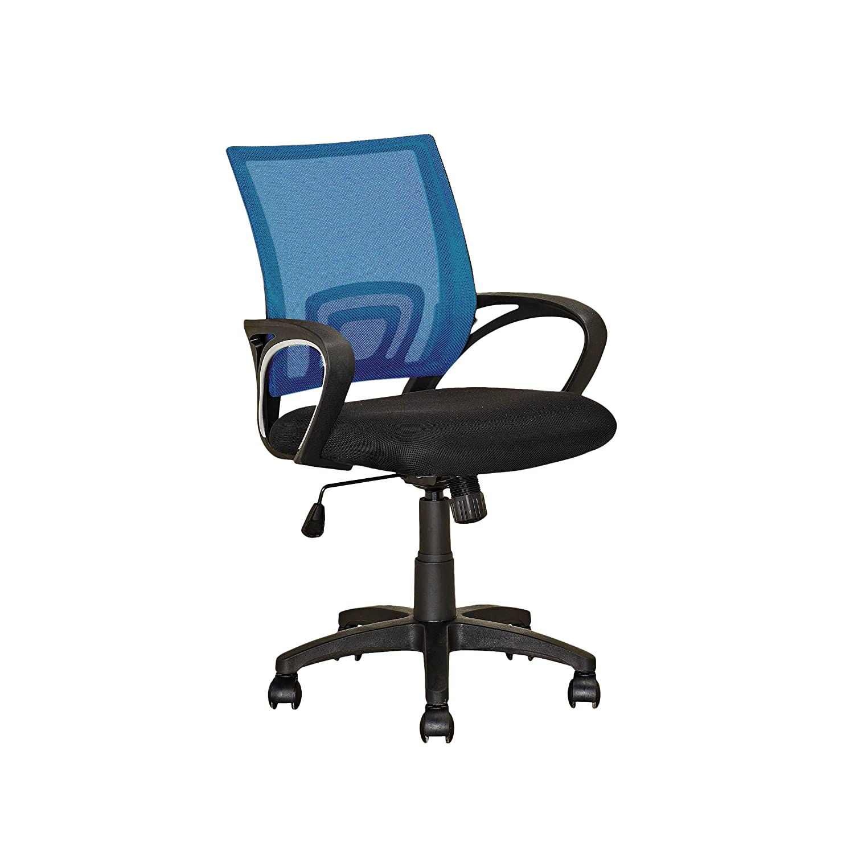Process bluee CorLiving LOF-313-O Workspace Purple Mesh Back Office Chair