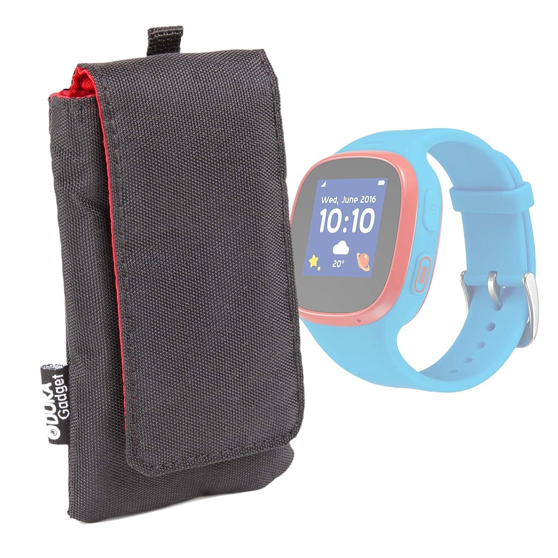 DURAGADGET Funda Acolchada Negra Para Smartwatch Fitbit ...