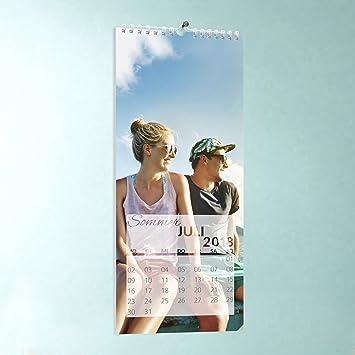 Küchen-Kalender zum selbstgestalten, Herrliche Zeiten, Wandkalender  148x360, Fotokalender 2018