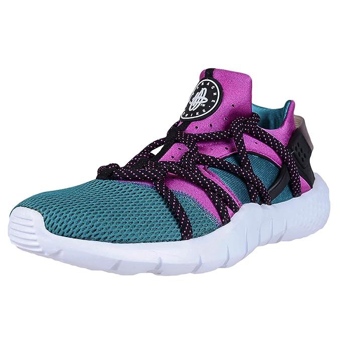 online store 69f09 b9abc Nike Mens Huarache NM Radiant Emerald Fuchsia Flash Black 705159-305 US 10