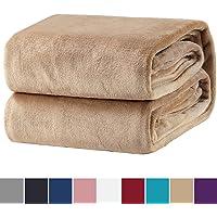 Bedsure Kuscheldecke Flauschige Decke, extra weich& warm Wohndecke in Wohnzimmer, Flanell Fleecedecke, Falten beständig/Anti-verfärben als Sofadecke oder Bettüberwurf