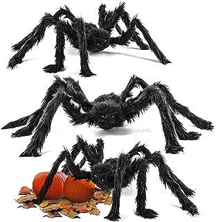 moinkerin Cráneo Esqueleto Colgante, Halloween Decoración Terror ...