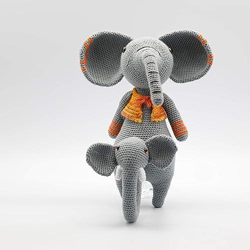 Amigurumi elephant pattern - Lucy the Elephant | lilleliis | 500x500