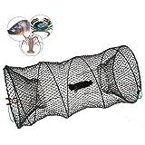 Create Idea - 1 par de trampas de Pesca 60 cm x 30 cm, para Cangrejo de Pescado y Cebo
