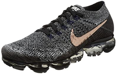 competitive price 4fb4d 82ae3 Nike Air Vapormax Flyknit (Black MTLC Red Bronze, 8)