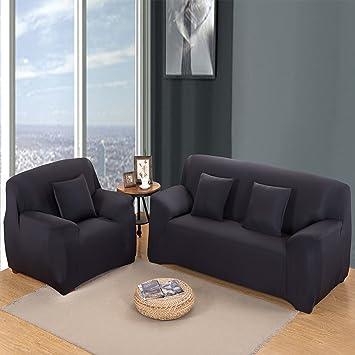 MultiWare Housse De Canapé Salon Couverture Extensible De Canapé - Comment retendre le cuir d un canapé