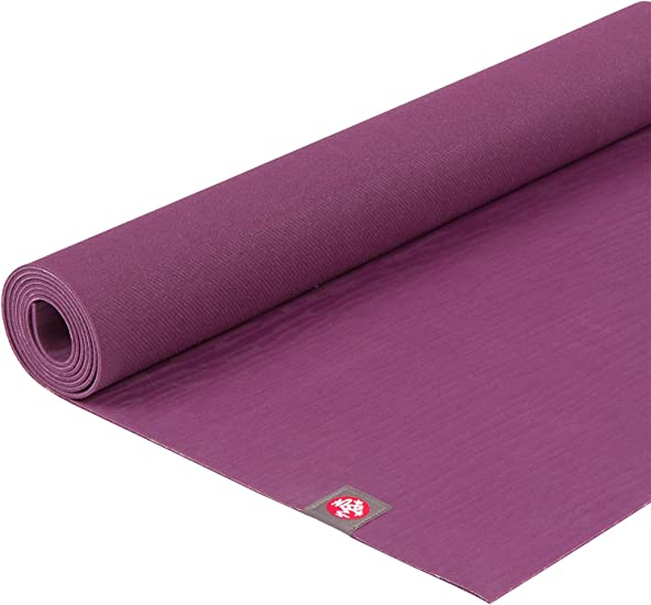 Manduka eKOlite Yoga Mat – Premium 4mm Thick Mat, Eco Friendly and Made from Natural Tree Rubber. Ultimate Catch Grip for Superior Traction, Dense ...