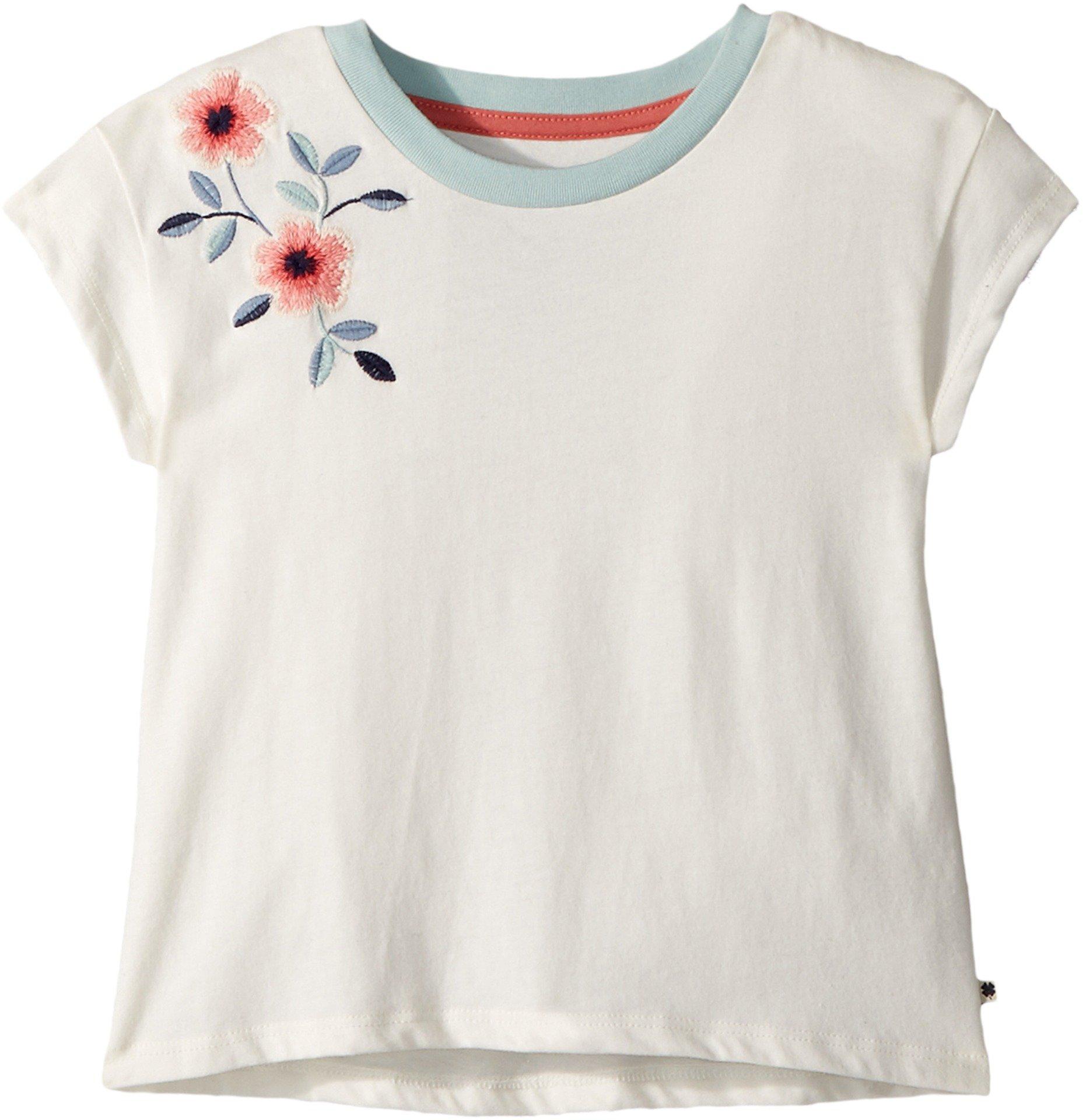 Lucky Brand Kids Girl's Falon Tee (Little Kids) Marshmallow 6X