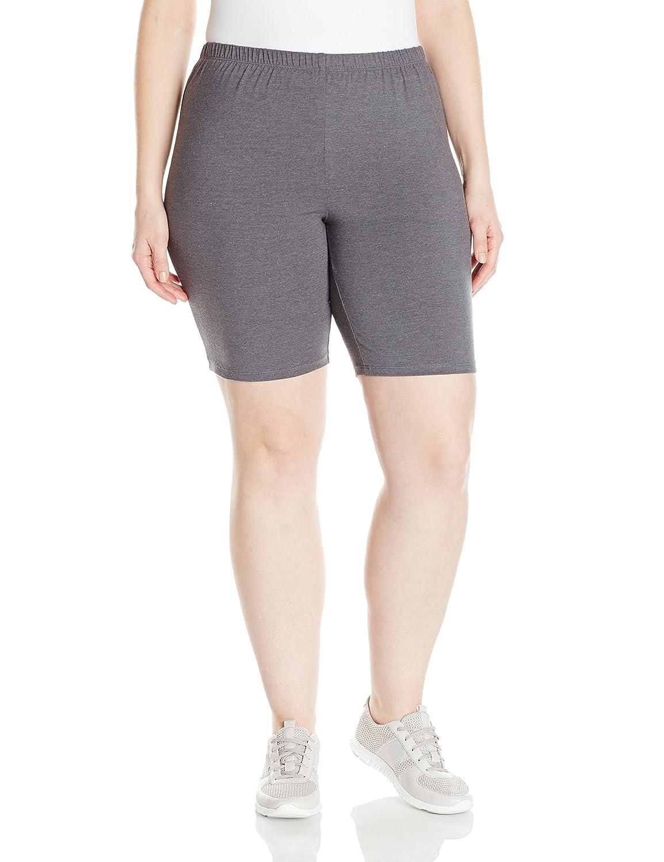 240c9b7e663 Just My Size Women s Plus-Size Stretch Jersey Bike Short  Amazon.ca   Clothing   Accessories