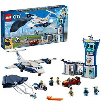 LEGO City Police - Policía Aérea: Base de Operaciones, Juguete de ...