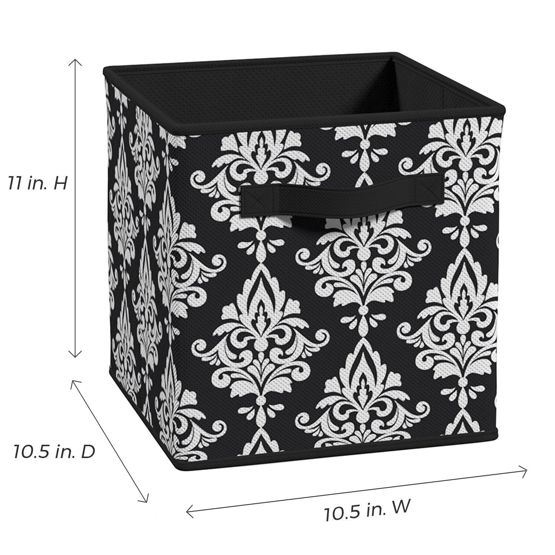 Closetmaid 3254 Cubeicals Fabric Drawer Gray Damask Mnglogistics Nl