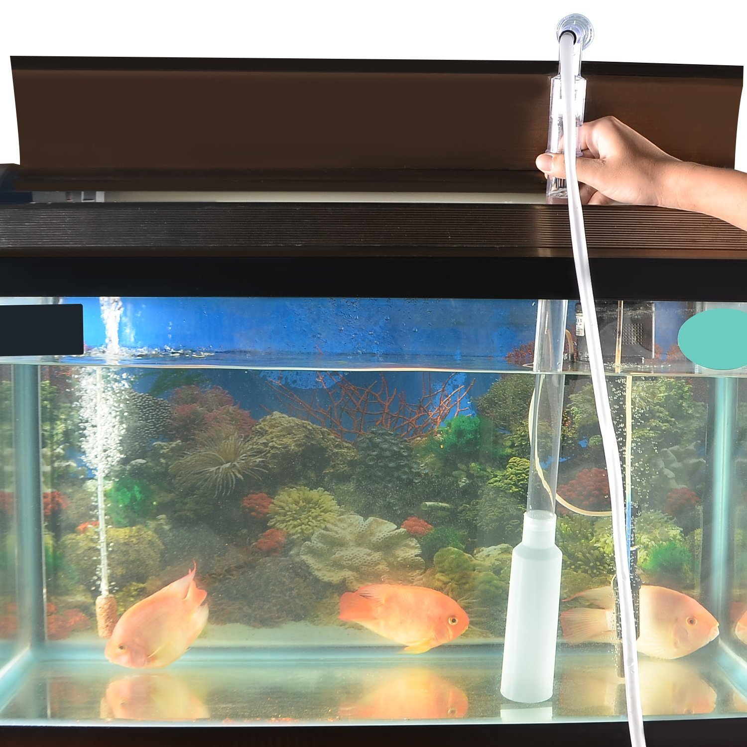 UNIFUN Aquarium Gravel Vacuum Siphon Fish Tank Sand Cleaner Water