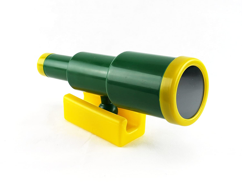 HIKS Kids Childrens Toy Telescope for Climbing Frames, Tree House, Dens & Play Houses g3steptelescope