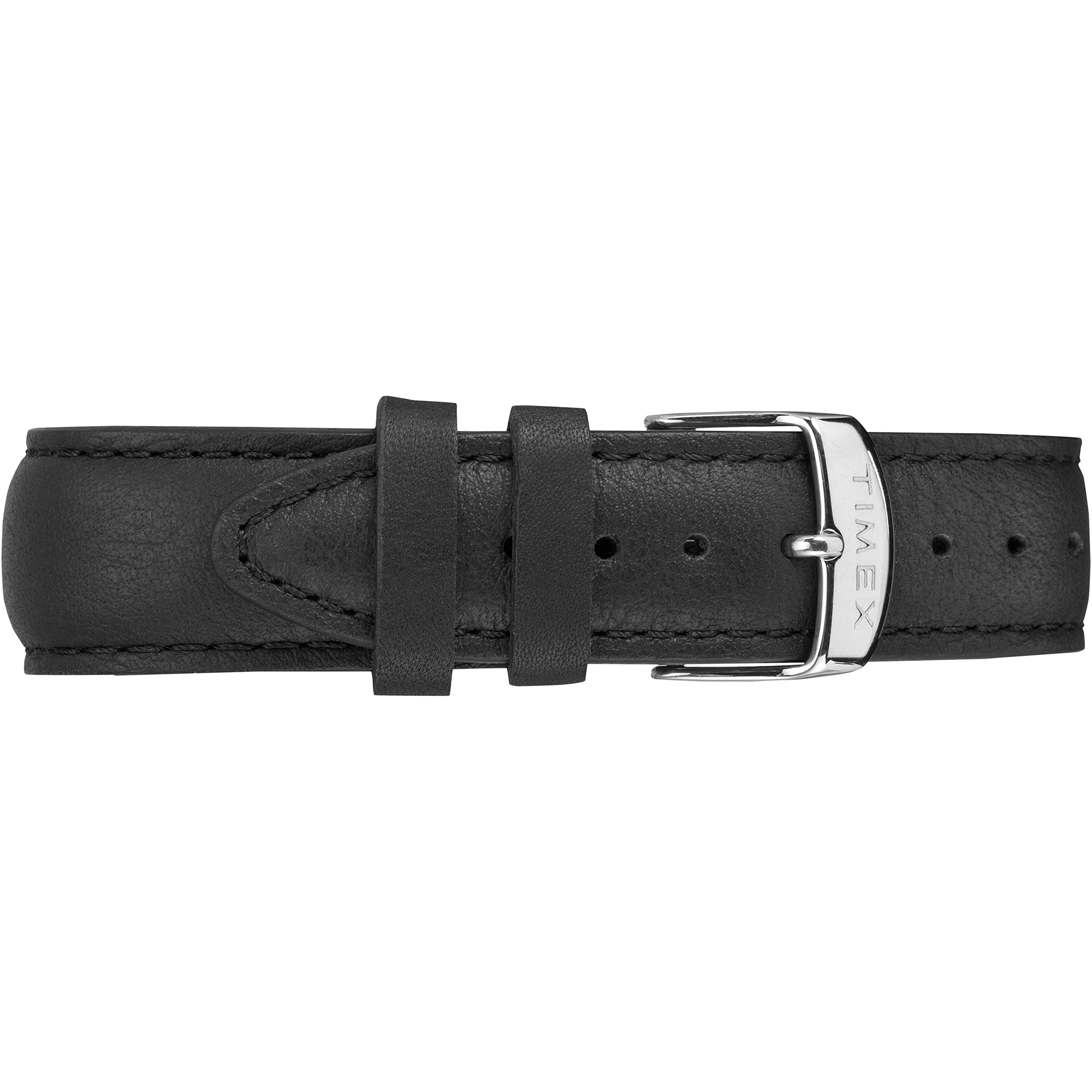 Timex Men's TW2R29800 Highland Street Black Leather Strap Watch by Timex (Image #2)