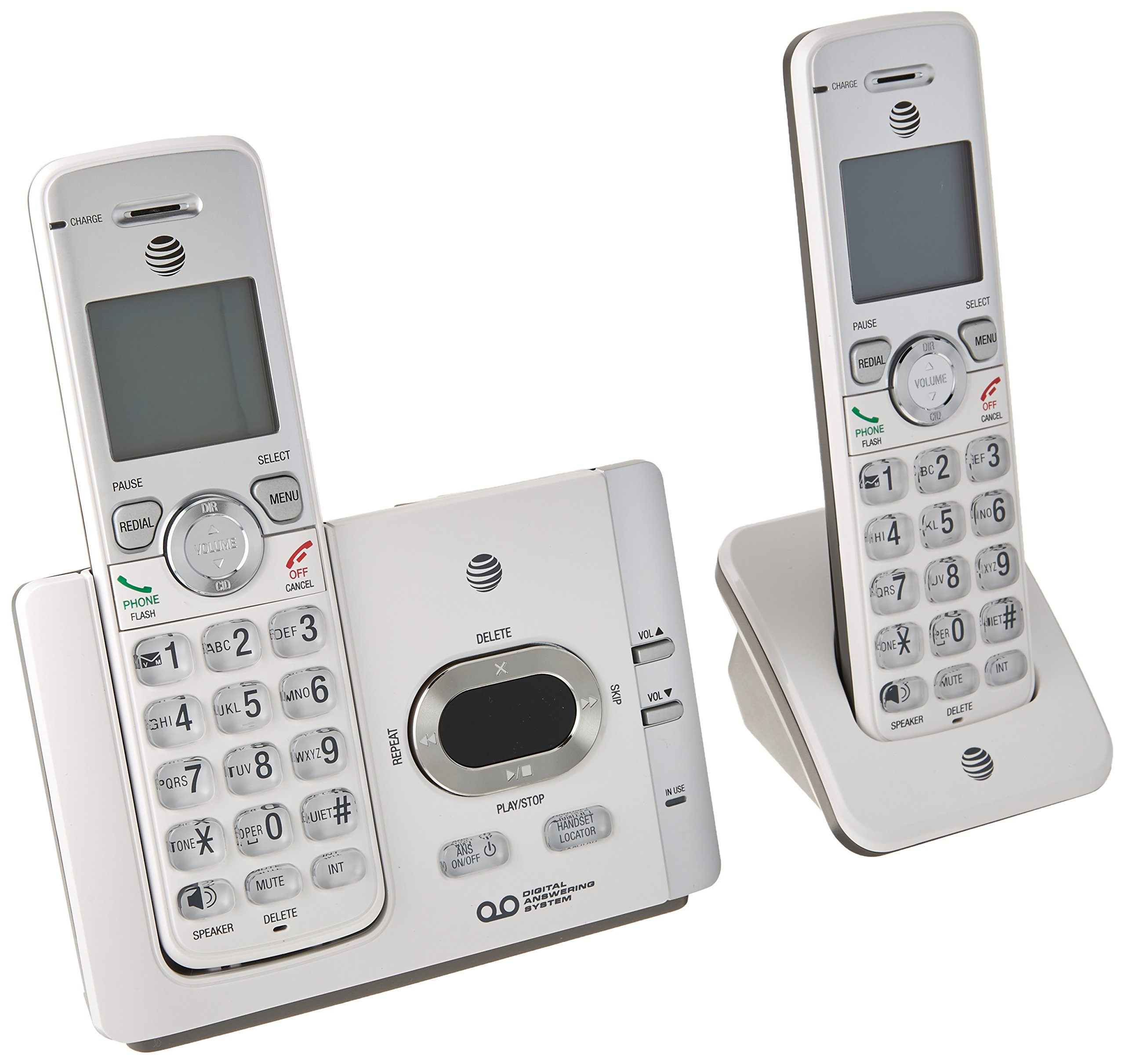 AT&T EL52215 Dect 6.0 Answering System with Caller ID/Call Waiting Landline Telephone Accessory by AT&T