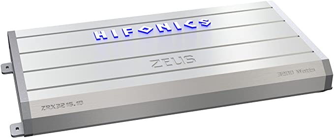 Hifonics Zeus ZXX-3200.1D 3200Watt RMS Monoblock Class D Car Audio Amplifier Amp