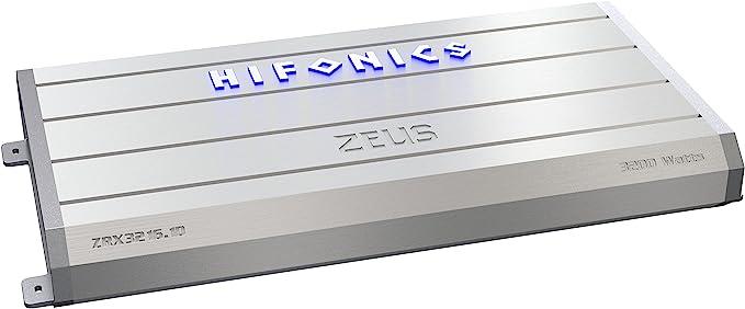 Hifonics Zeus ZXX-3200.1D 3200 Watt RMS Mono Class D Car Audio Amplifier+Amp Kit