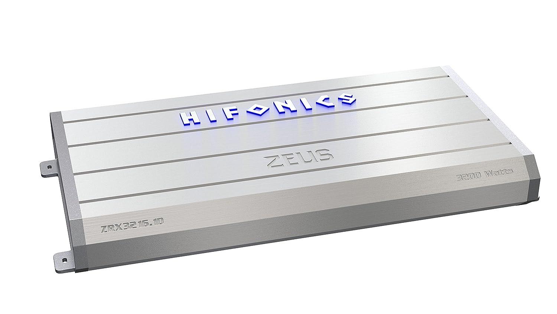 Hifonics ZRX3216.1D Zeus ZRX Series Mono Block D Class 3200 Watt Vehicle Amplifier