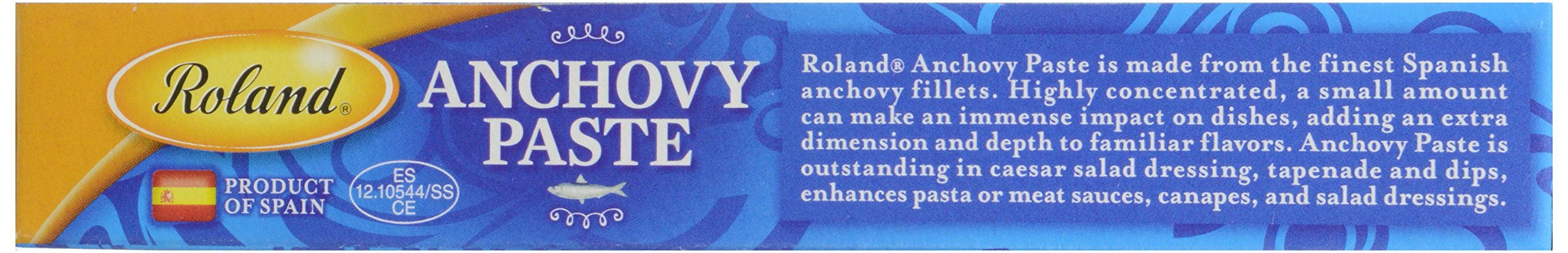 Roland Products Anchovy Paste 2 oz. 6 Anchovy Paste Is Made From The Finest Spanish Anchovies, Ground Into A Fine Paste Reddish Brown Color With A Moderately Pronounced Fish Flavor And A Salty Bite Paste is normally kept under cool temperatures, but it will holdup under heat