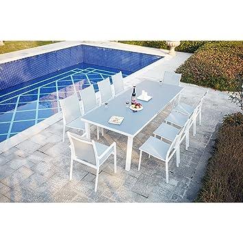 Concept-Usine Moniga 10 : table de jardin extensible 10 ...