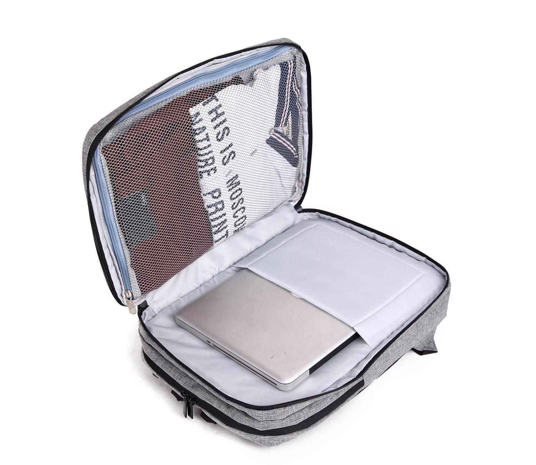 Mochila Para Laptop garybank 16 Negocios Mochila Impermeable Mochila de viaje BACKPAC