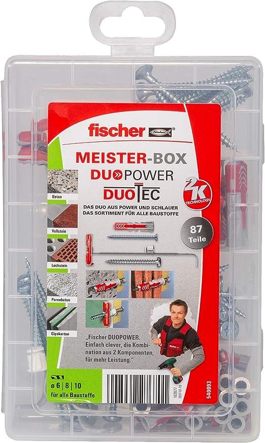 Vis Pêcheurs FIXTAINER les Power et plus intelligent Box avec duopower//Duotec