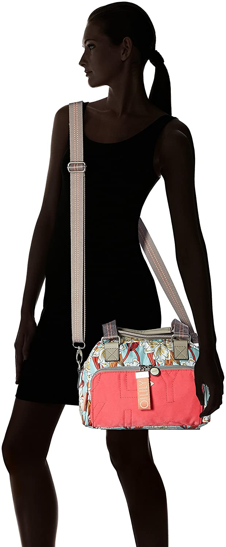 Charm Ornament Handbag Shz 1 Bolso Mujer Light Turquoise Oilily B x H T 16x20x28 cm Turquesa