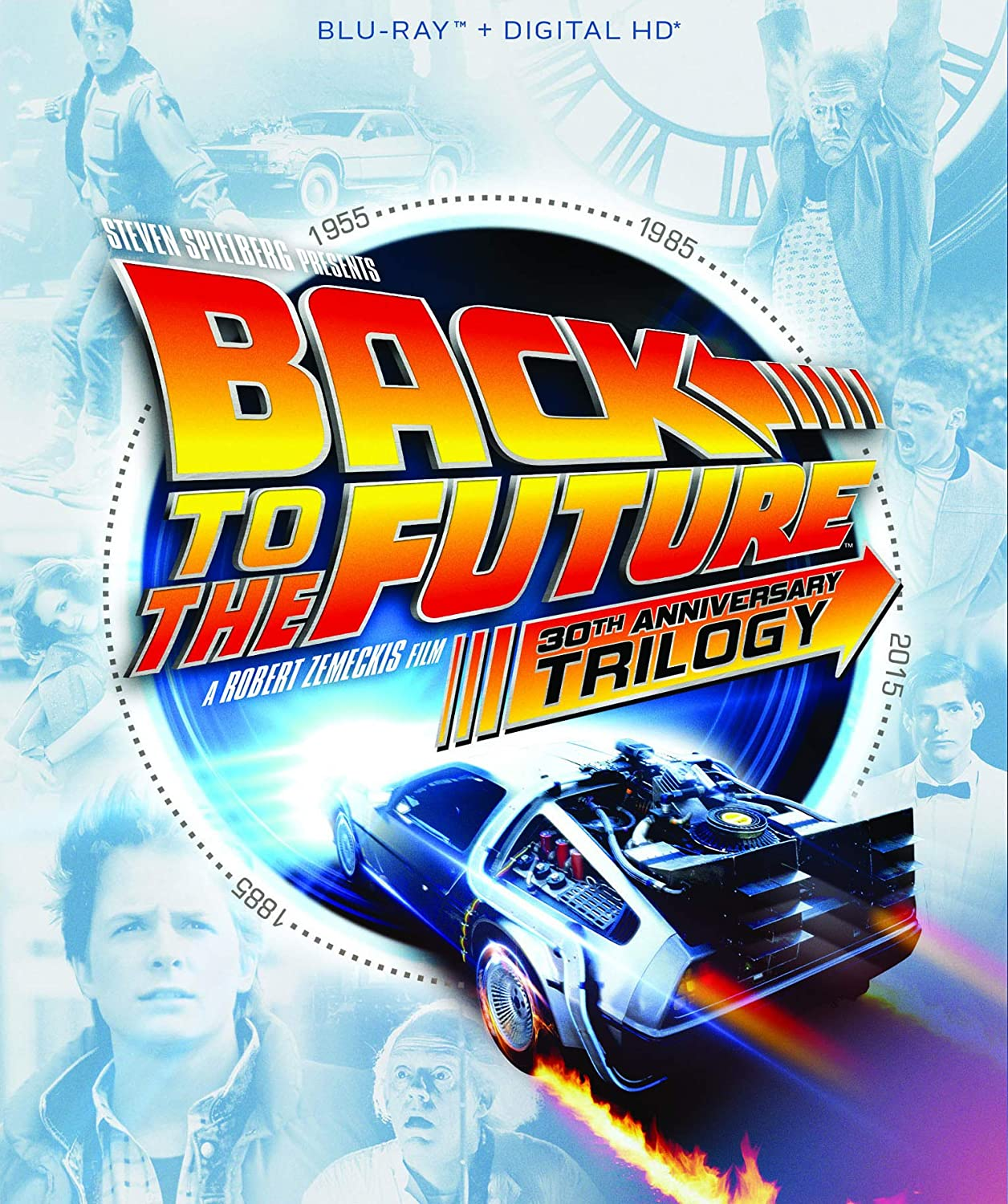 Amazon.com: Back to the Future Trilogy [Blu-ray]: Michael J. Fox ...