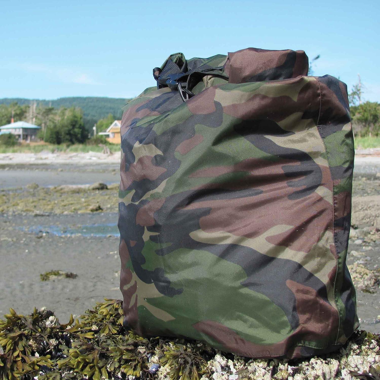 100 L or 3-Piece Set 20L 100/% Waterproof Camo or Olive Drab /… 60L Aqua Quest Rogue Dry Bags 10L 30L