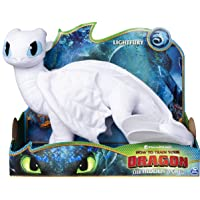 Deals on DreamWorks Dragons 6052953 Deluxe Plush LightFury