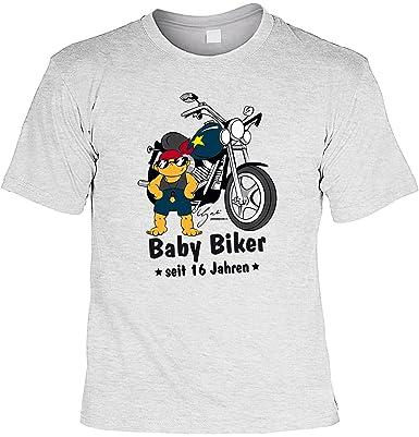 Spruche Tshirt 16 Geburtstag Geschenk 16 Jahre Baby Biker Seit