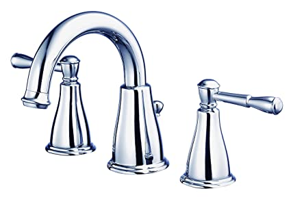 Danze D304115 Eastham Two Handle Widespread Lavatory Faucet, Chrome ...