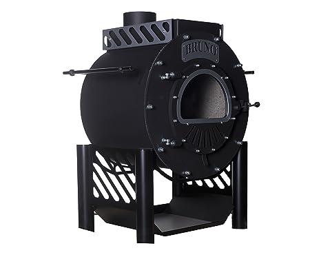 Estufa de leña Bruno Techno 15 kW.