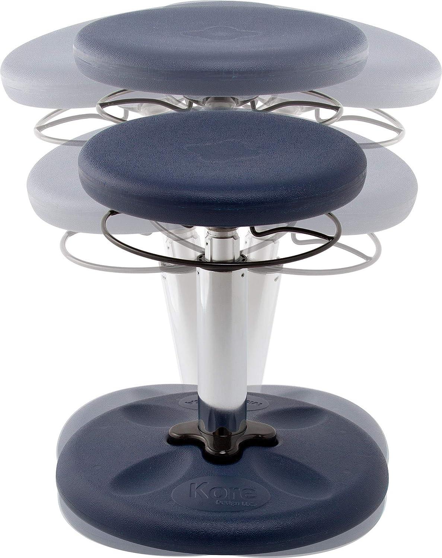 14/″-19/″ Kore KOR3104 Kids Adjustable Standard Wobble Chair Dark Blue