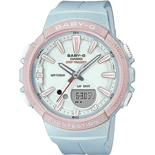 BABY-G Reloj Analógico-Digital para Mujer de Cuarzo con Correa en Resina BGS-100SC-2AER: Amazon.es: Relojes