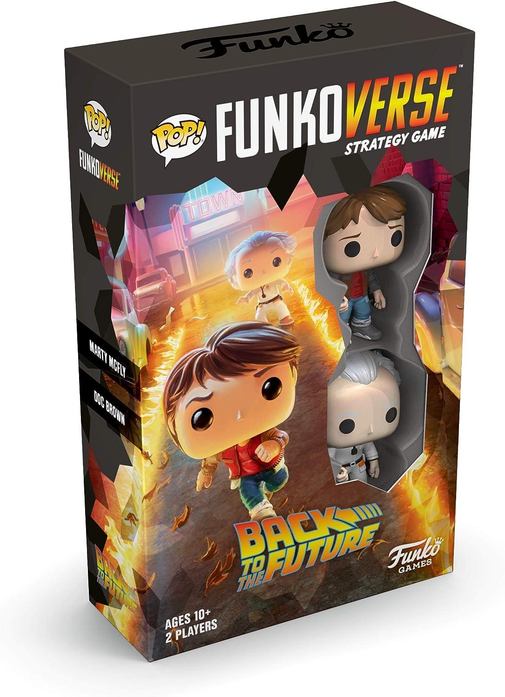 w// Exclusive Figures 100 Board Game Funkoverse: Back to The Future Funko Pop