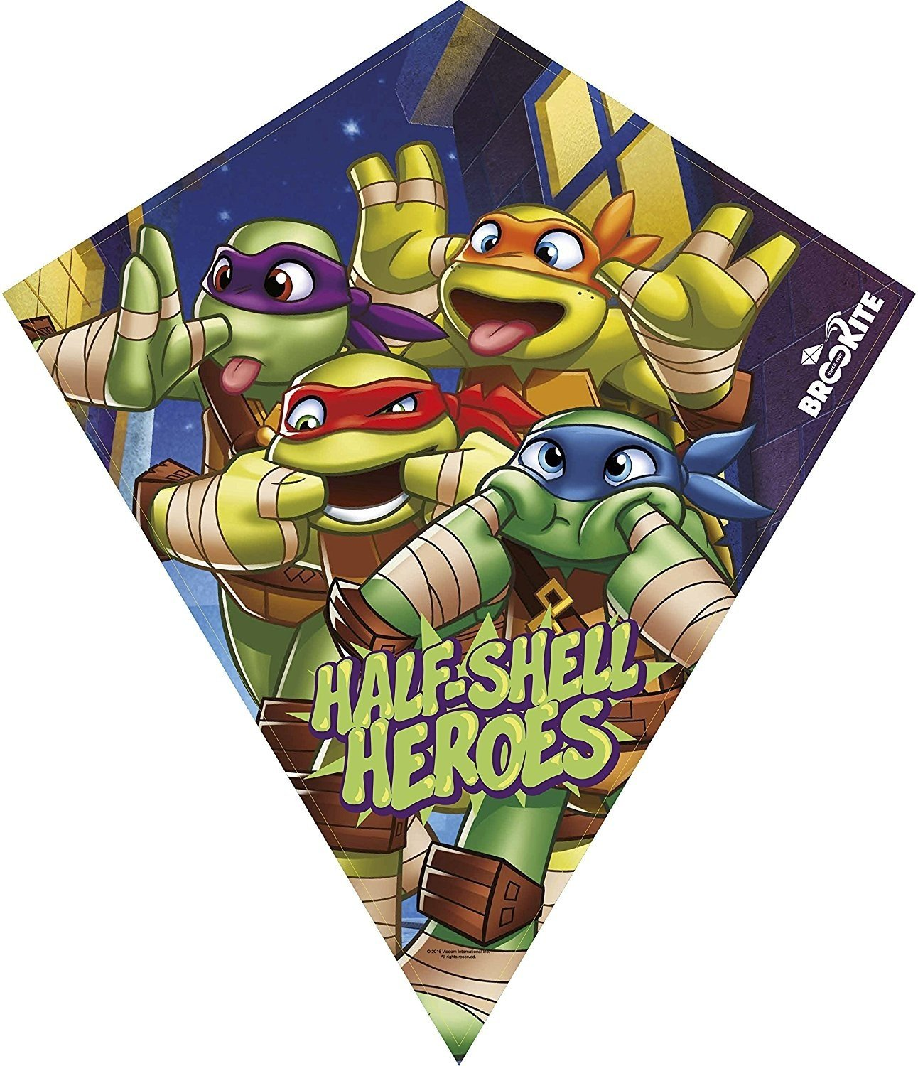 Brookite 3155 Teenage Mutant Ninja Turtle Single Line Fun Kite