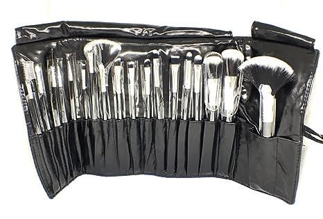 7f5d364cc Set Profesional de Brochas para Maquillaje 18 piezas  (Negro,Dorado,Morado,Plata y Rosa) (Negro): Amazon.com.mx: Salud, Belleza y  Cuidado Personal