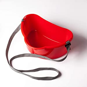 Fruits Berry Picker Harvesting Basket with Strap 3L/0.8 gal Harvest Bucket for Fruits Berries Vegetables Garden Tools Container Belt Support Farm   1 pcs Red