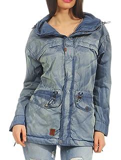 khujo Nuyded Sommerjacke Jacke Damen  Amazon.de  Bekleidung d71a66ede1