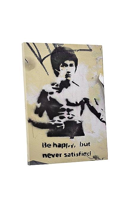 Amazoncom Pingo World 0531qydbjqs Banksy Bruce Lee Gallery Wrapped