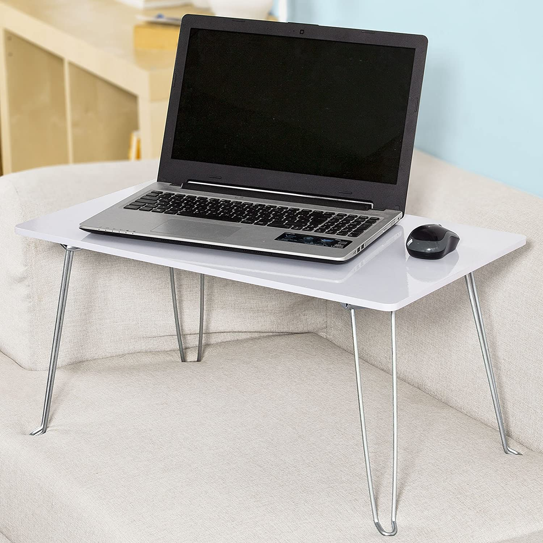 Laptop bed table tray - Sobuy Fbt09 B Bule Portable Laptop Table Desk Foldable Breakfast Serving Bed Tray