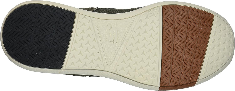 Skechers Men's 65494 Boat Shoes, Green
