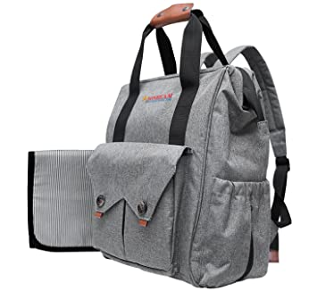 e22b9ab2bc Amazon.com   Baby Diaper Bag Backpack